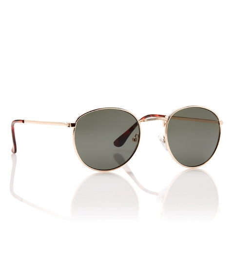 CLEAR WATER GOLD SUNGLASSES