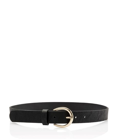 VEDA ROUNDED BUCKLE BELT