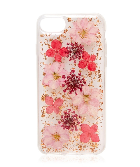 6/7/8 PINK FLORAL PHONE CASE