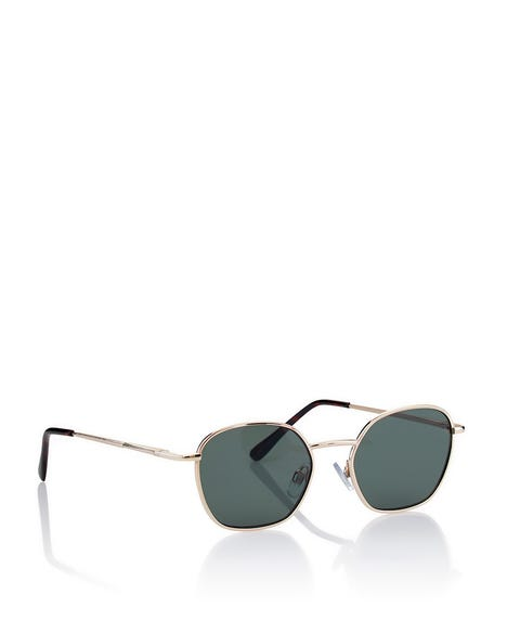MICAH SQUARE RIMMED SUNGLASSES