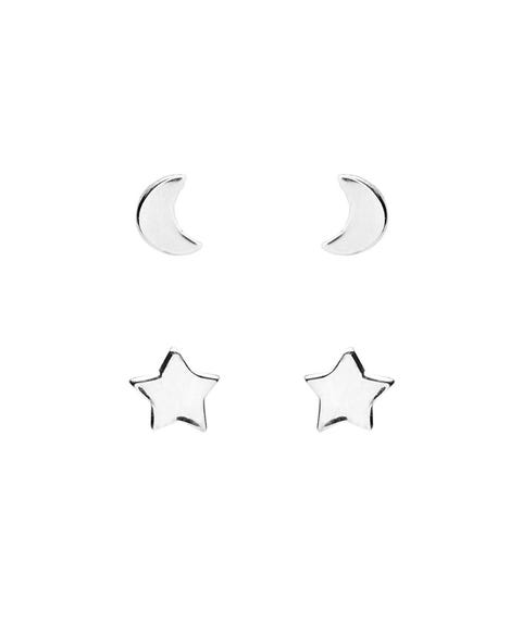 SS STAR & MOON STUD PACK