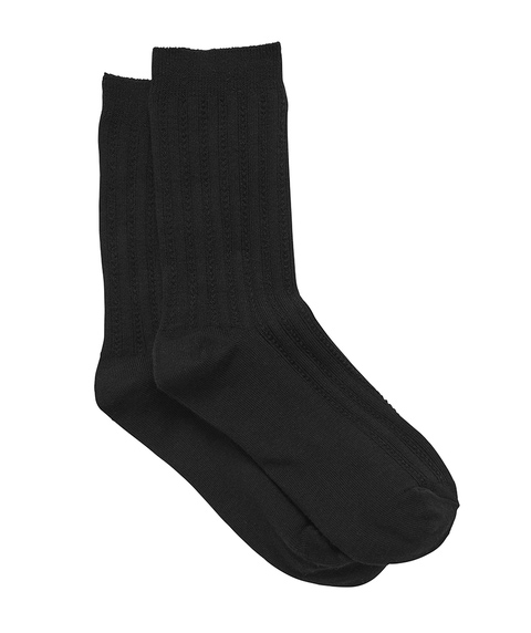 BLACK BACK TO BASICS SOCK