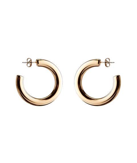GOLD CLASSIC HOOP EARRINGS
