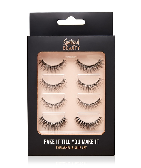 FAKE IT TILL YOU MAKE IT - FAUX EYELASHES SET WITH GLUE