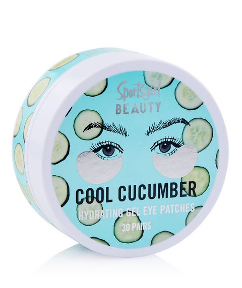 COOL CUCUMBER - COOLING GEL EYE PATCHES