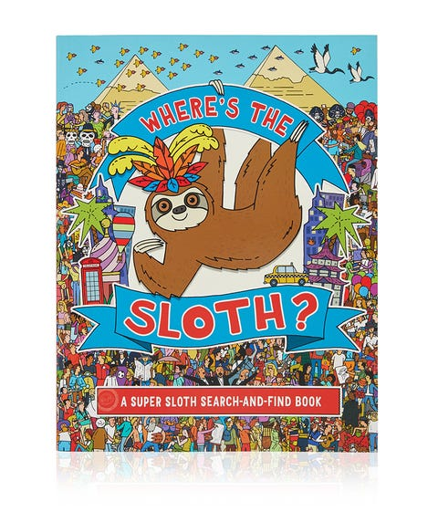 WHERE'S THE SLOTH BOOK
