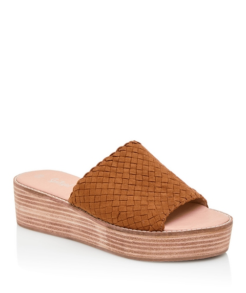 WILLOW WOVEN FLATFORM SLIDE