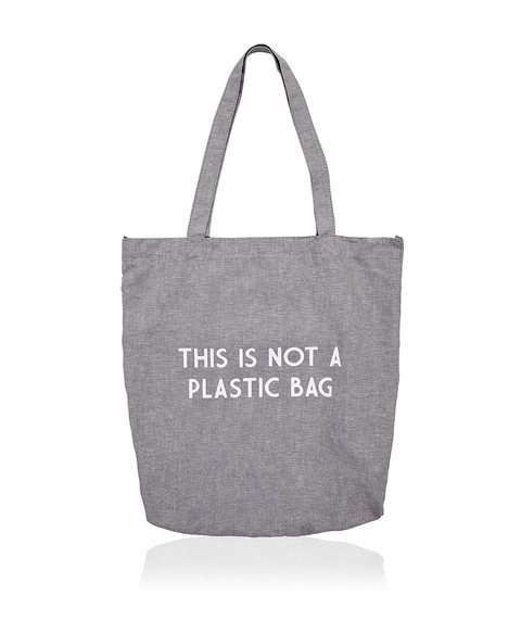 THIS IS NOT A PLASTIC BAG ECO BAG