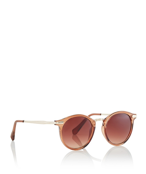 BROWN SHANI SUNGLASSES