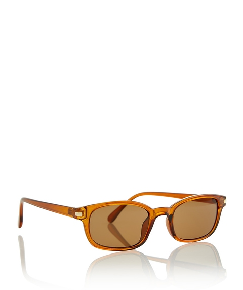 BURNT ORANGE BROOKLYN SUNGLASSES