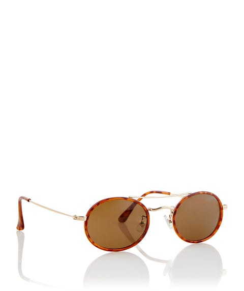 GOLD MYAH SUNGLASSES