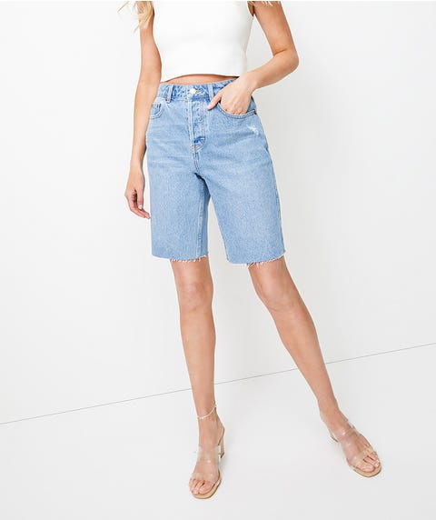 90'S DENIM SHORT