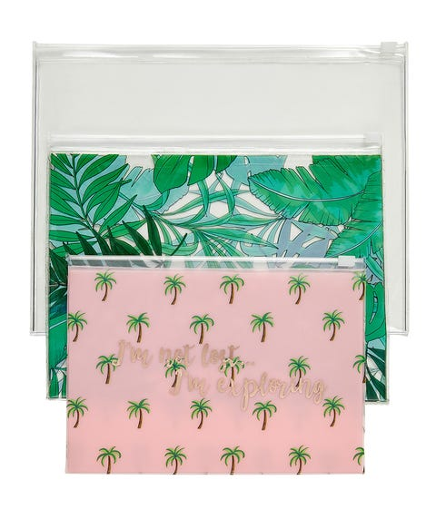 AWAY WE GO - TRAVEL POUCHES