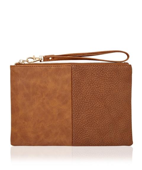SHANA SPLICE CLUTCH BAG