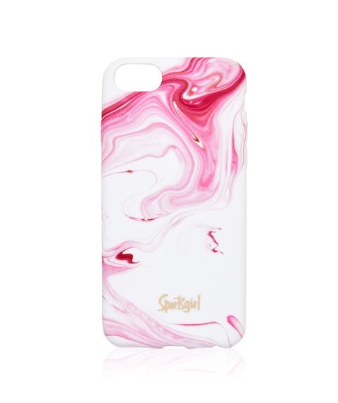 6/7/8 PINK SWIRLS PHONE CASE
