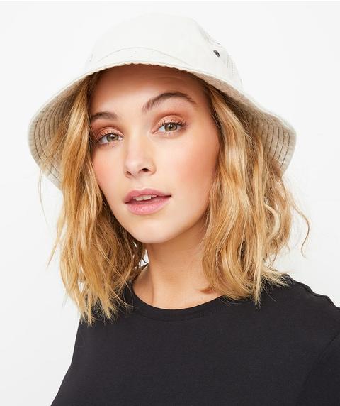 ECRU BUCKET HAT