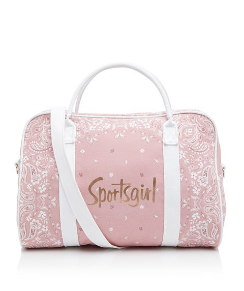 PRETTY BANDANA DUFFLE BAG