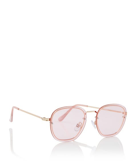 PINK HARRIET SUNGLASSES