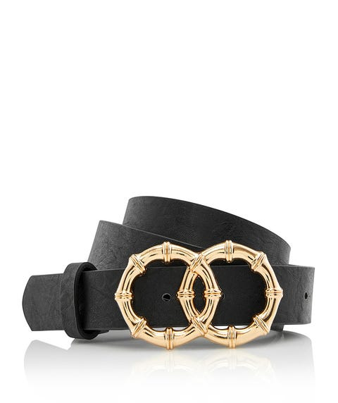 METAL BAMBOO DOUBLE RING BELT