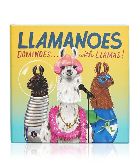 LLAMANOES - DOMINOES WITH LLAMAS