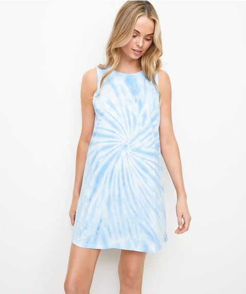 REWIND TANK DRESS - TIE DYE