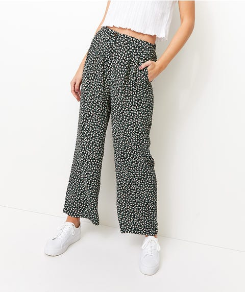 SUNFLOWER CREPE PANT