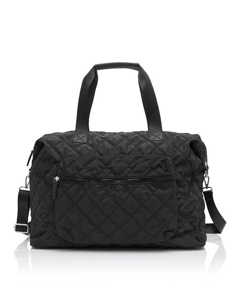 CARSON QUILTED WEEKENDER BAG