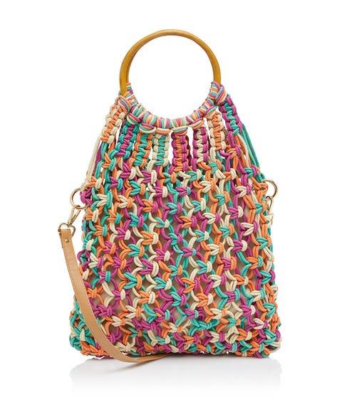 DAISY WOVEN BAG