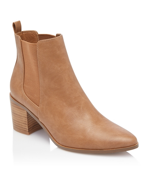 MOLLY GUSSET BOOT