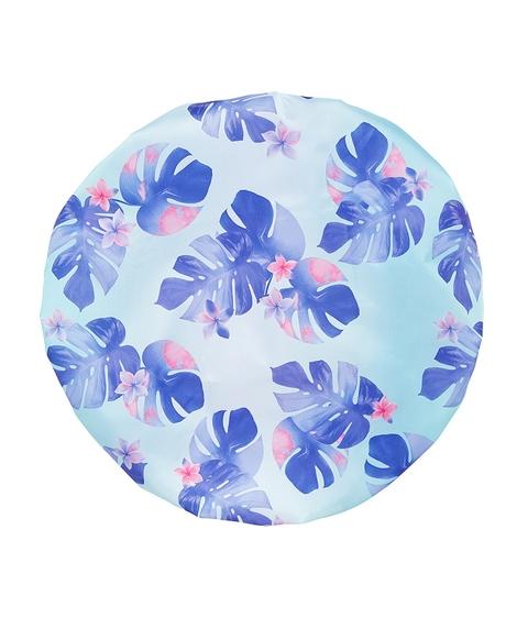 TROPICAL BLUE LEAF - SHOWER CAP