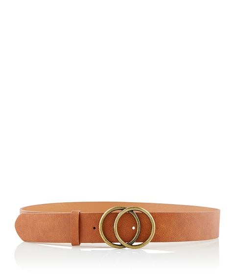WIDE KENDAL DOUBLE RING BELT