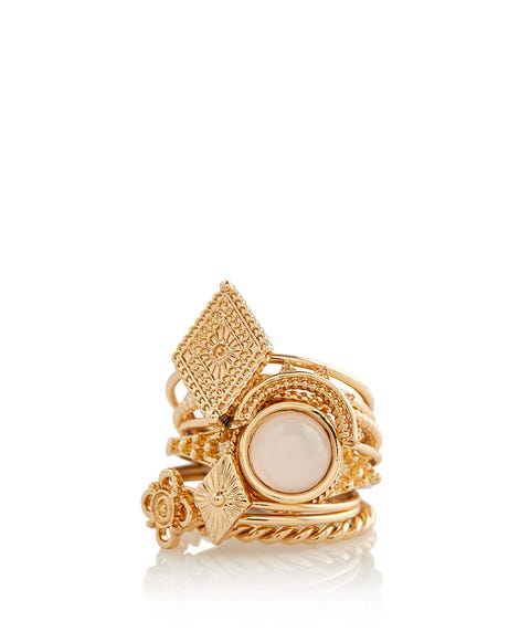 GOLD BOHO RING PACK
