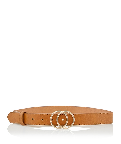 KENDAL DOUBLE RING BUCKLE BELT