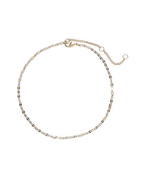 GOLD FINE CHAIN ANKLET