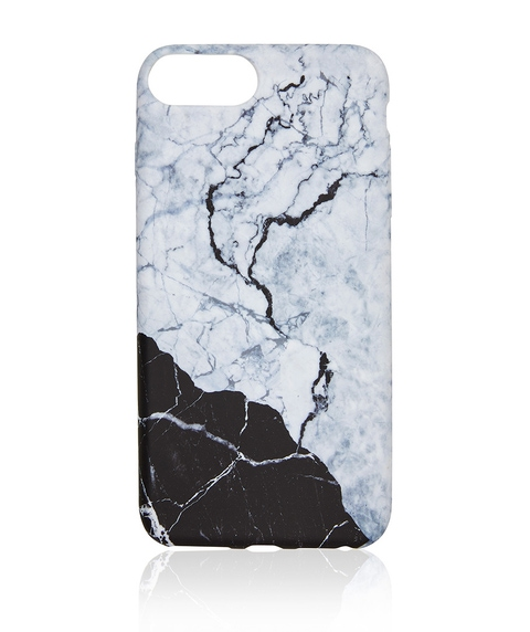 6/7/8 MONOCHROME MARBLE PHONE CASE
