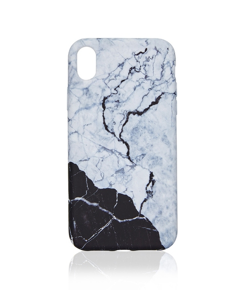 XR MONOCHROME MARBLE PHONE CASE