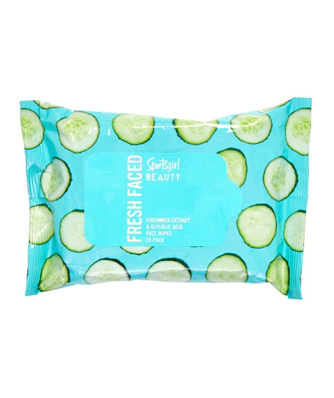 FRESH FACED - CUCUMBER FACE WIPES