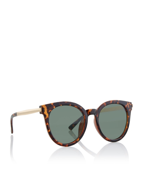TORT LILLY ROUND SUNGLASSES