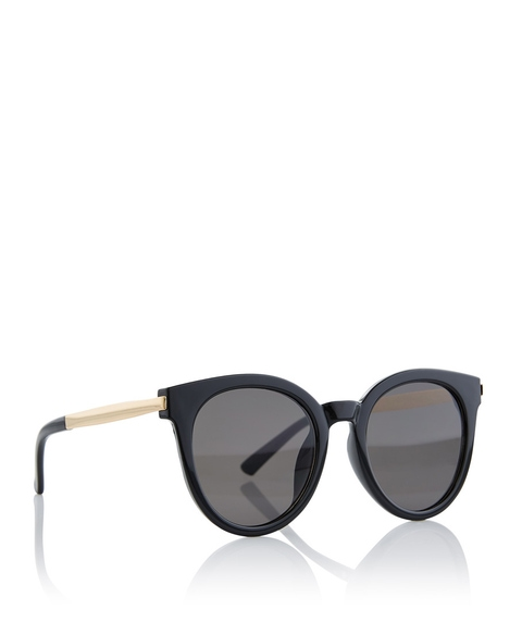 BLACK LILLY ROUND SUNGLASSES