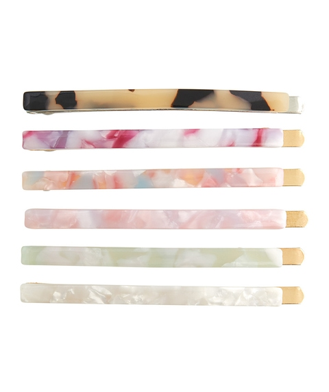 MULTI TORT HAIR CLIP PACK