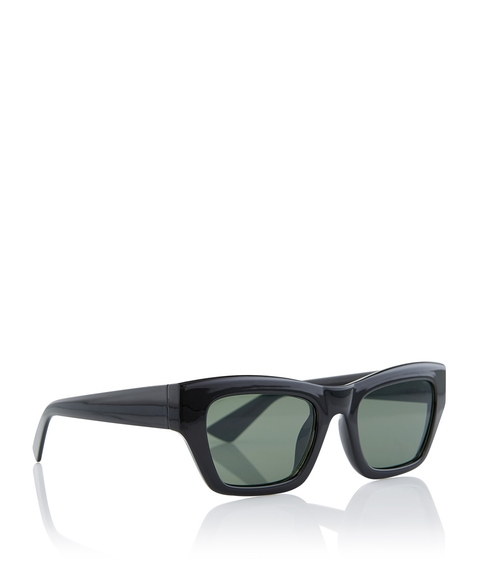 BLACK ALIDA SUNGLASSES