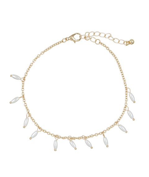 PEARL DANGLE ANKLET