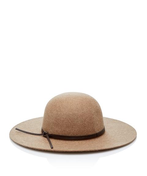 CAMEL ROCKY FELT FLOPPY HAT