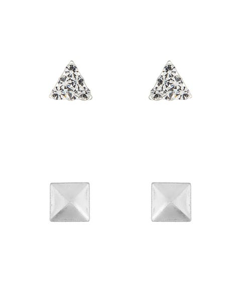 SS DIAMANTE SHAPE STUD PACK