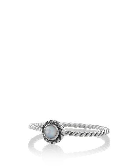 SS CLASSIC TEXTURED  RING