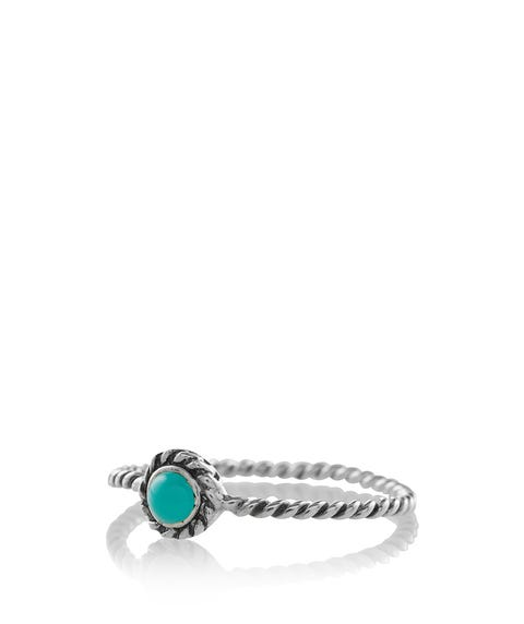 SS CLASSIC TURQUOISE RING