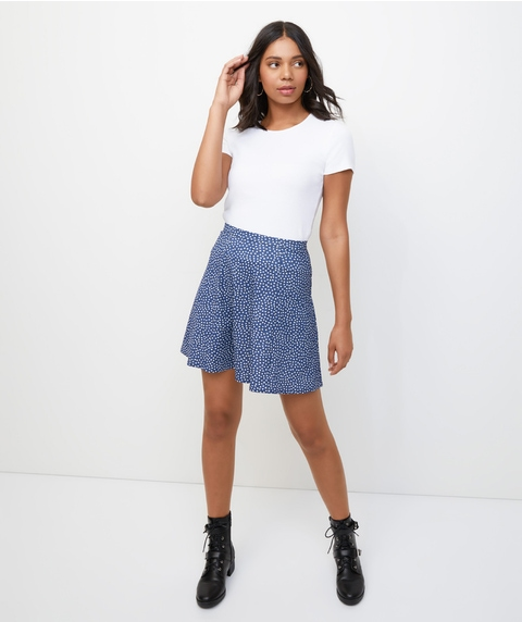 FLOUNCE MINI SKIRT