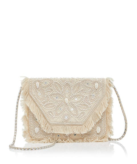 EDWINA SHELL CLUTCH BAG