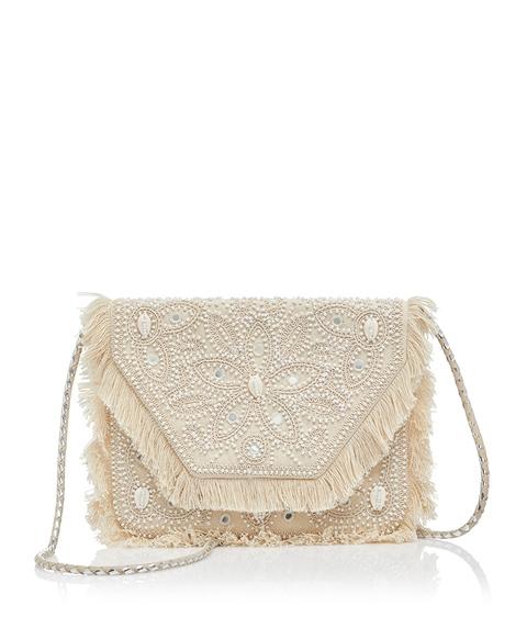 EDWINA SHELL CLUTCH BAG