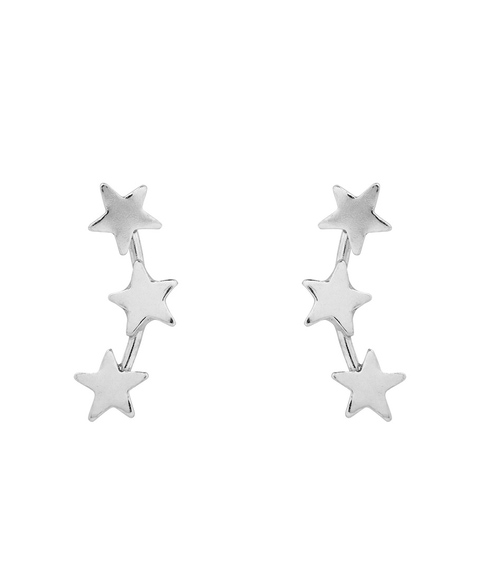 SS STAR EARRINGS